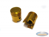 Valve caps piston gold