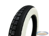 12 inch 3.00x12 Continental LB67WW white wall tire for Tomos Pack'R