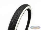19 inch 2.25x19 Anlas NR-7 whitewall tire