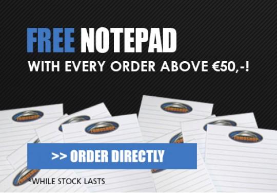 Free notepad!