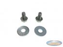 Side cover bolts and washers kit for mounting side engine cover