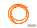 Fuel hose fluorescent orange (1 meter)