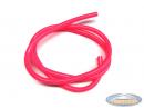 Fuel hose fluorescent pink (1 meter)
