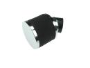 Luchtfilter 35mm schuim zwart schuin Athena