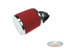 Airfilter 35mm foam red angled 90 degrees (PHBG / PHVA)