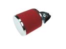 Luchtfilter 35mm schuim rood schuin 90 graden