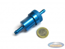 Fuel filter Alu blue BIG