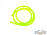 Benzineslang fluor geel (1 meter)
