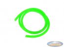 Fuel hose fluo green 1 meter