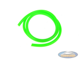 Benzineslang fluor groen (1 meter)