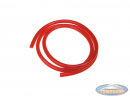 Fuel hose red (1 meter)