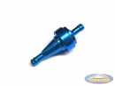 Fuel filter Alu blue