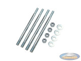 Stud set for cylinder with bolts M7x115