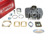 Cylinder Tomos A35 / A52 65cc (44mm) Airsal aluminium with reed valve