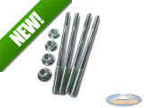 Stud set for cylinder with bolts M6x106mm Tomos 2L / 3L