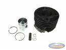 Cylinder Tomos 2L / 3L 50cc 25 km/h (38mm) Pin 12