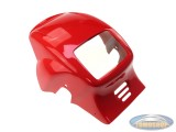 Wizzard headlightcap Tomos Wizz'rd red