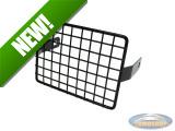 Headlight grill square black