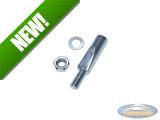 Pedal key 9.5mm / 43mm