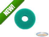 Fuel cap sponge green
