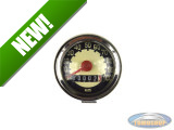 Speedometer kilometer 48mm 100 km/h VDO replica cream / black universal