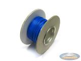 Electrisch draad blauw per meter