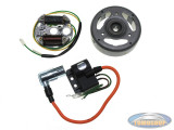 Ignition complete for contact point with flywheel CDI 12V 33W/35W