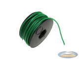 Electric cable green a meter