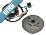 Flywheel e-start and ignition with pick-up Tomos A35 / A55 original