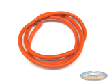 Spark plug cable thick 7mm orange