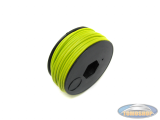 Electric cable yellow (per meter)