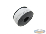 Electric cable white (per meter)