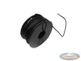 Electrisch draad zwart per meter