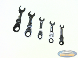 Ring ratchet stubby flex 5-piece metric