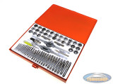 Threading tool set 60-piece Luxe