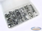 Assorted self-locking nuts 150-piece
