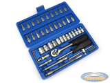 Socket set 46-piece