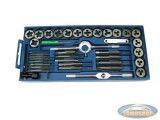 Threading tool set 40-piece