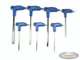 Allen key set 7 pieces