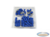 Electronic cable shoe assortment blue