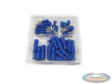 Elektro kabelschoen assortiment blauw