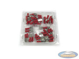 Electronic cable shoe assortment red