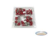Electro kabelschoen assorti rood