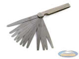Feeler gauge tool 0.05 > 1.00mm
