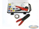 Electric cable stripper set