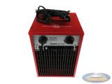 Robuuste metalen ventilatorkachel 3000W