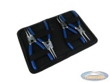 Circlip plier set 4 pieces