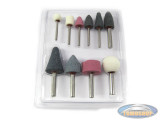 Multi tool sharpening stone tool set 10-pieces