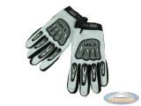 Handschoen MKX cross wit / zwart