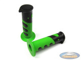 Handle grips Cross 922X black / green 24mm / 22mm